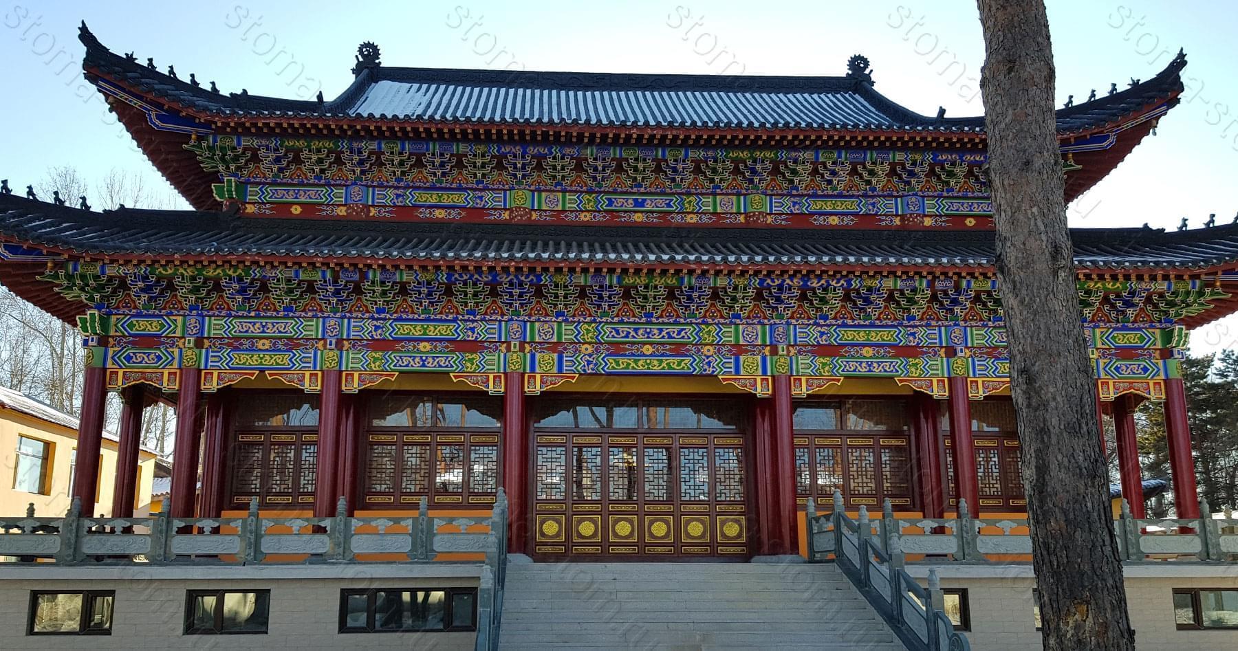 Храм в Хэйхэ